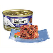 12 x Gourmet Solitaire Can With Duck & Garden Veg In Sauce 85g