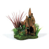 Classic Driftwood Delights Stump Pinnacle Garden 210mm