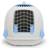 Igloo 2 In 1 Cat Loo & Carrier Artic Blue