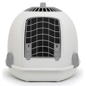 Igloo 2 In 1 Cat Loo & Carrier Tundra Grey