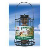 Supa Caged Fat Ball Feeder 25cm (10