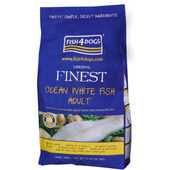 Fish4dogs Finest Ocean White Fish Small Bite Adult Dog Food