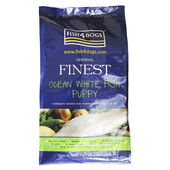 Fish4Dogs Finest Large Bite Ocean White Fish Complete Puppy Food