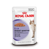 Royal Canin Digest Sensitive Adult Cat Food Gravy Pouch 12 x 85g