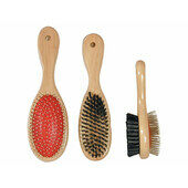 Wooden Handle Double Sided Brush