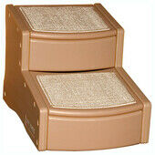 PetGear Easy Step Stairs 2-step Tan