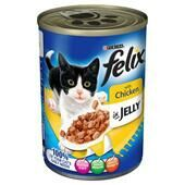 12 x Felix Can Chicken In Jelly 400g