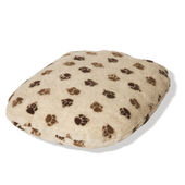 Danish Design Fleece Paw Beige/brown Fibre Bed Cover