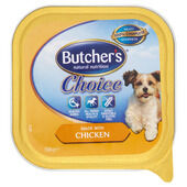 12 x Butchers Alutray Choice With Chicken 150g