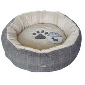 Tweedy Luxury Donut Dog Bed