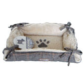 Luxury Cat & Dog Tweed Pet Bed