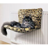 Danish Design Kumfy Kradle Leopard Cat Radiator Bed