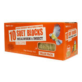 Suet To Go Mealworm & Insect Block Wild Bird Food