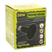 Komodo Ceramic Heat Emitter Black 50w