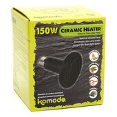 Komodo Ceramic Heat Emitter Black 150w
