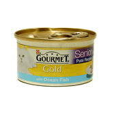 12 x Gourmet Gold Senior Pate With Oceanfish 85g
