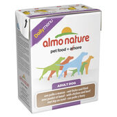 12 x Almo Nature Daily Menu Dog Chicken & Beef 375g