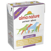 12 x Almo Nature Daily Menu Dog Chicken & Turkey 375g
