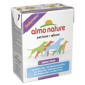 12 x Almo Nature Daily Menu Dog Tuna & Rice 375g