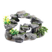 Classic Rocky Outcrops Rocky Arch With Plants 265mm