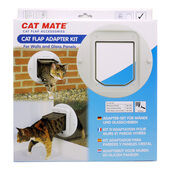 Cat Mate Adapter Kit For 360 Cat Flap Walls And Glass Panels