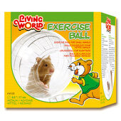 Living World Exercise Ball With Stand