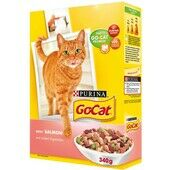 6 x Go-cat Complete Adult Salmon & Veg 340g
