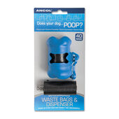 Poop Bag Bone Shaped Dispenser Inc Rolls 2