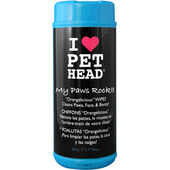 Pet Head Wipes My Paws Rock 50pack
