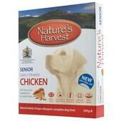 10 x Natures Harvest Senior Chicken 395g
