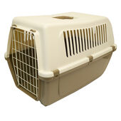Mp Bergamo Vision 60 Large Plastic Pet Carrier - 58x38x41cm