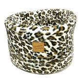 Danish Design Luxe Leopard Cat Cosy Bed