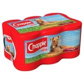 Chappie Jumbo Favourites Wet Dog Food - 6 x 412g Cans