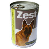 Zest Vat Free For Working Dogs Large 12pack