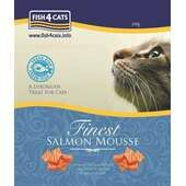 6 x Fish4cats Salmon Mousse 100g