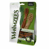 6 x Whimzees Toothbrush Small 9 Cm 24pk