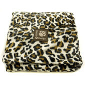 Danish Design Luxe Dog Duvet Cover- Brown Leopard