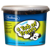 Hollings Tub Of Lamb Treats 400g
