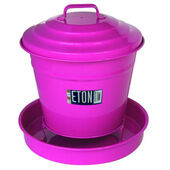 Eton Garden Cottage Chicken Covered Feeder Pink 3.6kg