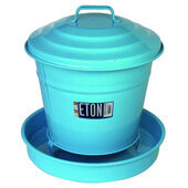 Eton Garden Cottage Chicken Covered Feeder Blue 3.6kg