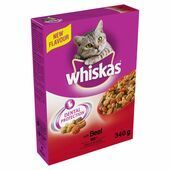 Whiskas Dry With Beef
