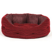 Danish Design Bobble Damson Deluxe Slumber Dog Bed