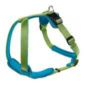 Hunter Neoprene Nylon Harness Green/petrol Blue