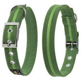 Oscar & Hooch Collar Medium Apple Green