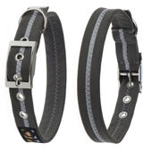 Oscar & Hooch Collar Small Graphite