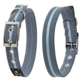 Oscar & Hooch Collar Large Ocean Breeze