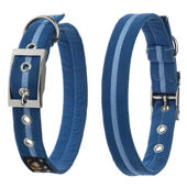 Oscar & Hooch Collar Small Royal Blue