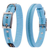 Oscar & Hooch Collar Small Sky