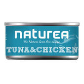 32 x Naturea Grain Free Cat Tuna & Chicken 80g