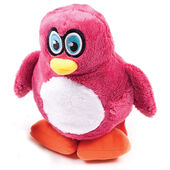 Hear Doggy Penguin Dog Toy- Pink
